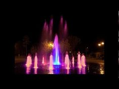 Multicolored Fountain Cernavoda  (Frank Sinatra - Love and Marriage)