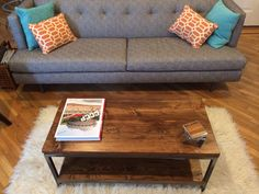 Reclaimed Wood Coffee Table: Bare Design by Gokojo on Etsy