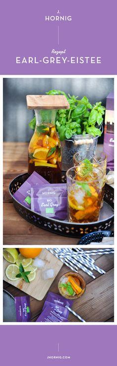 Das ist zwar kein Kaffeerezept, schmeckt aber auch sehr gut. ;-)  Hast du auch keine Lust auf überzuckerte Durstlöscher? Wir haben eine Alternative für euch: Selfmade Earl-Grey-Eistee mit Biofrüchten, die den Körper kühlen und Basilikum statt Mainstream-Minze.   #JHornig #Eistee #Icetea #nosugar #refresh #summer