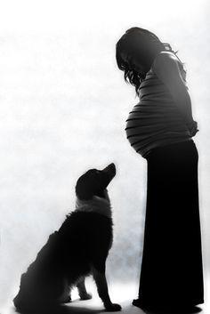 Fun maternity photo