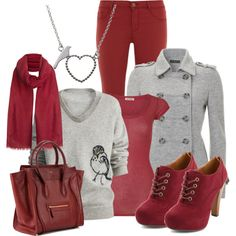 """Not so much the shoes but the rest is comfy and cute looking....""""Contest"""" by dgia on Polyvore"""