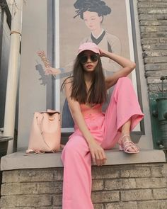 Proof That Martine Ho Does Monochromatic Dressing Best - Star Style PH Martine Cajucom, Monochrome Outfit, Star Fashion, Fashion Trends, Everything Pink, Boss Babe, Harry Styles, Summer Outfits, Dress Up