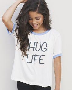 Jenna's Hug Life Shirt – Pearl Yukiko