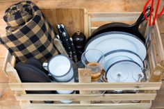 Less outfitted guests have the option to purchase a camp box, which includes a pots and pans, tablecloth, plates, glasses, mugs, bowls, utensils - everything you need to prepare your organic camping chili. (Courtesy photo)
