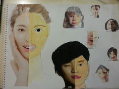 다양한 표정