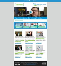 Our brand new eNewsletter! send us your comments! Find it at http://www.videum.com/nl/July_web.html