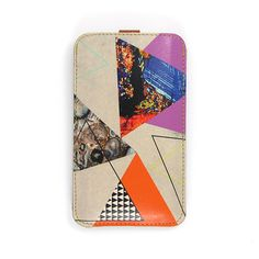 Leather iPhone case / iTouch case  Abstract by tovicorrie on Etsy, $40.00