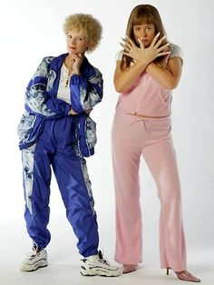 Kath and Kim Jane Turner and Gina Riley