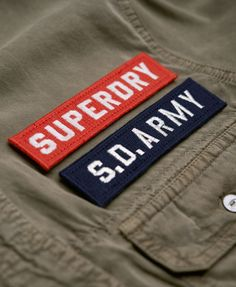 Superdry Camisa Delta Military - Camisas para Mujer