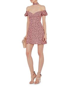Shop the Alexis Loele Off Shoulder Choker Floral Dress & other designer styles at IntermixOnline.com. Free shipping +$150.