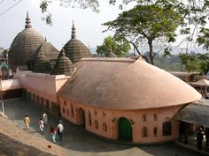 Kamakhaya Mother Goddess Temple - Guwahati, Assam, India, considered one of the oldest of the 51 Shakti Peethas. Temple Architecture, Indian Architecture, Indian Temple, Hindu Temple, Temple India, Mysterious Places, India Travel, Incredible India, Pilgrimage