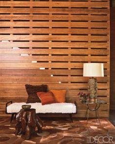 rustic pallet wall flur ideen badezimmer schlafzimmer flur gestalten trennwand farbkonzept