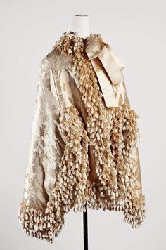 Cape Date: ca. 1882 Culture: American Medium: silk