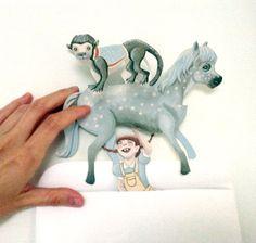 Printable PDF Pippi Longstocking Clever Card von ArtistInLALALand