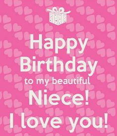 Happy Birthday Niece – Birthday Wishes, Messages, Images
