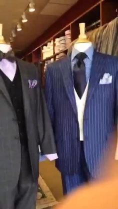 Blue & Black Suits A.Smith Clothiers, Easley, SC #katched — Easley, SC, United States