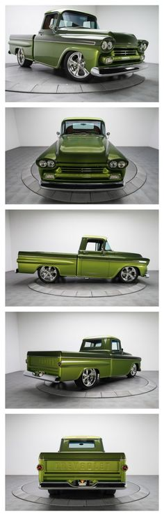 "Perpetually cool and visually stunning, this awesome Chevy ""Koolant"" pickup is a near perfect example of a custom made road warrior"
