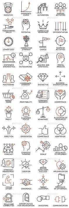 Icons Set of Business Management #design Download: http://graphicriver.net/item/icons-set-of-business-management-part-3/14052660?ref=ksioks