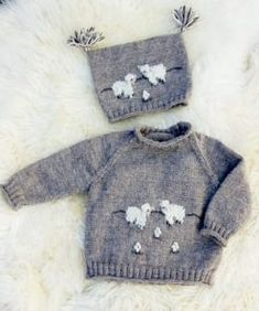 Hand knitted 3 piece romper set for 16 18 034 reborn or new born baby boy up to Baby Knitting Patterns, Knitting Designs, Baby Patterns, Hand Knitting, Baby Boy Sweater, Knit Baby Sweaters, Sweater Set, Toddler Outfits, Kids Outfits