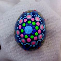 "Small hand painted Stone ""Fabergé Eggs"" collection"