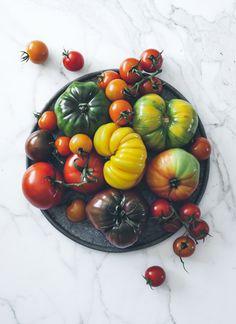 food, garden, heirloom tomatoes