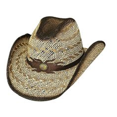 Desert Gold Straw Cowgirl Hat 8d9f6b6c350e