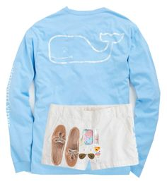 """""""This sucks I'm sorry I'm trying to get all these done before my flight, Set for Paige!"""" by cora-g77 ❤ liked on Polyvore featuring Vineyard Vines, J.Crew, Sperry, Lilly Pulitzer, Henri Bendel, Benefit and Ray-Ban"""