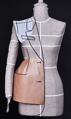 Moda Peru, Couture Sewing Techniques, Tailored Fashion, Couture Embroidery, How To Make Clothes, Jacket Pattern, Dress Sewing Patterns, Fashion Sewing, Mode Inspiration