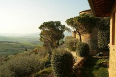 Piccolo Hotel La Valle Pienza: A view of the old wall of Pienza