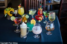 A selection of cocktails, Old Kinderhook Trophy Room