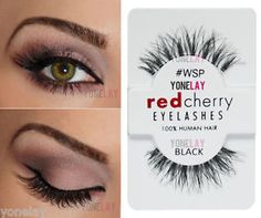 red cherry lashes wsp - Google Search