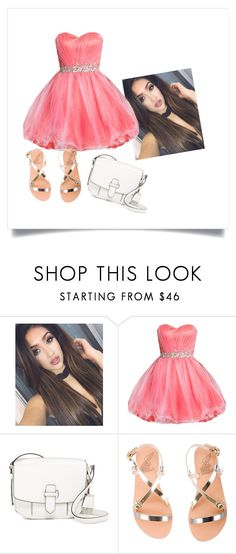 """""""My Sister's Style"""" by jasmin198 ❤ liked on Polyvore featuring MICHAEL Michael Kors and Ancient Greek Sandals"""
