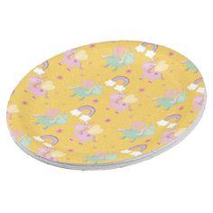 #Cute unicorn paper plate - #birthday #gift #present #giftidea #idea #gifts