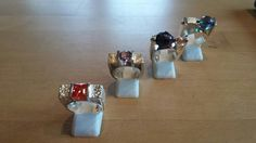 Silver rings a little bit tougher  than usual. www.olinkastyle.nl