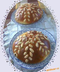 Velikonoční mazanec, bochánek Easter 2020, Easter Recipes, Hamburger, Pancakes, Muffin, Bread, Breakfast, Food, Morning Coffee