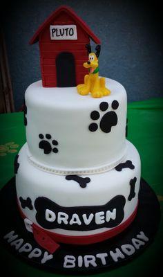 Precious Pluto Birthday Cake