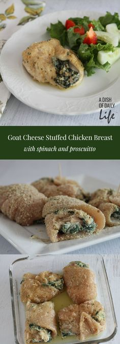 Goat Cheese Stuffed