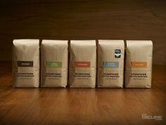 다양한 커피 패키지 디자인/포장 용기 디자인/스텀타운 커피 로스터스 패키지 디자인 : 네이버 블로그