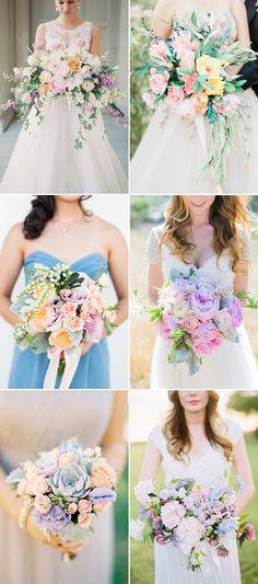 6 Utterly Romantic Wedding Bouquet Trends For Spring Wedding Bouquets, Peony Bouquet Wedding, Wedding Ceremony Flowers, Wedding Flower Arrangements, Wedding Bride, Floral Wedding, Fall Wedding, Country Wedding Photos, Romantic Weddings