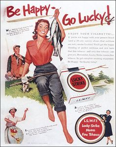 Raymond Loewy - Lucky Strike Ad, Ladies Home Journal