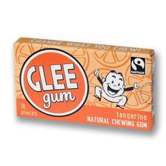 Glee All Natural Tangerine Gum Packs: Box Organic Candy, Gum Flavors, Chewing Gum, Glee, Packing, This Or That Questions, Box, Nature, Drink