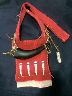 Art of Chris Bezold-Plains Indian Reproductions: January 2015 Native American Regalia, Native American Art, American Indians, Shooting Bags, Woodland Indians, Man Gear, Longhunter, Powder Horn, Fur Trade