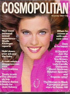 1983 November Cosmopolitan free Gift wrap Fast dispatch in Books, Comics & Magazines, Magazines, Women's   eBay Carol Alt