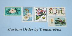 Reserved Custom Order for Tammy .. Unused Vintage US Postage Stamps by…