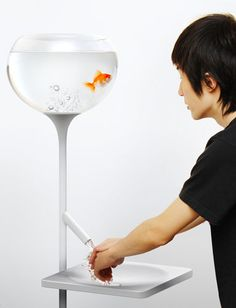 Poor Little Fish Sink  - Wash your hands quickly or the fish will ... well, you know!