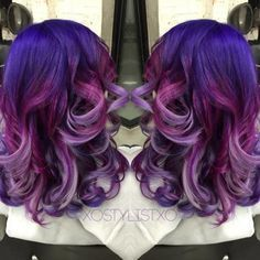 FORMULA: Purple To Lavender Color Melt | Modern Salon