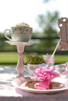 Pretty Party Presentation: Girls Tea Party