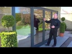Innovative Folding Patio Doors - Panoramic Doors- This is what I want to replace our back windows!!!