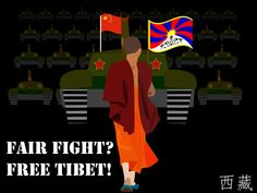 Support Tibetans struggle for a free Tibet.  Help the world condemned China's occupation of an independent country, culture and civilization.