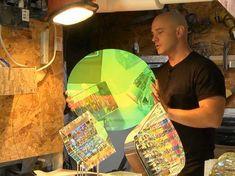 Artist Jack Storms creates some breathtaking Glass Artwork using Fibonacci Ratios. Jack Storms, Cubist Sculpture, Weird Gif, Blown Glass Art, Glass Artwork, Funny Photos, Geometric Shapes, Trending Memes, Cool Pictures